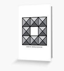 Design 134 Greeting Card