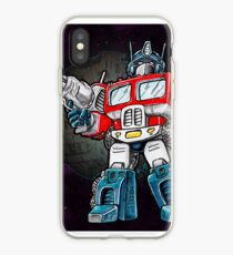 Transformers Optimus Prime Chibi iPhone Case