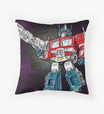 Transformers Optimus Prime Chibi Throw Pillow