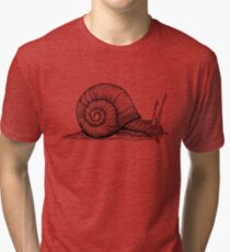 Snail Tri-blend T-Shirt