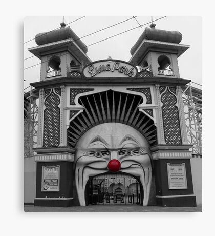 Red Nose Day Canvas Print