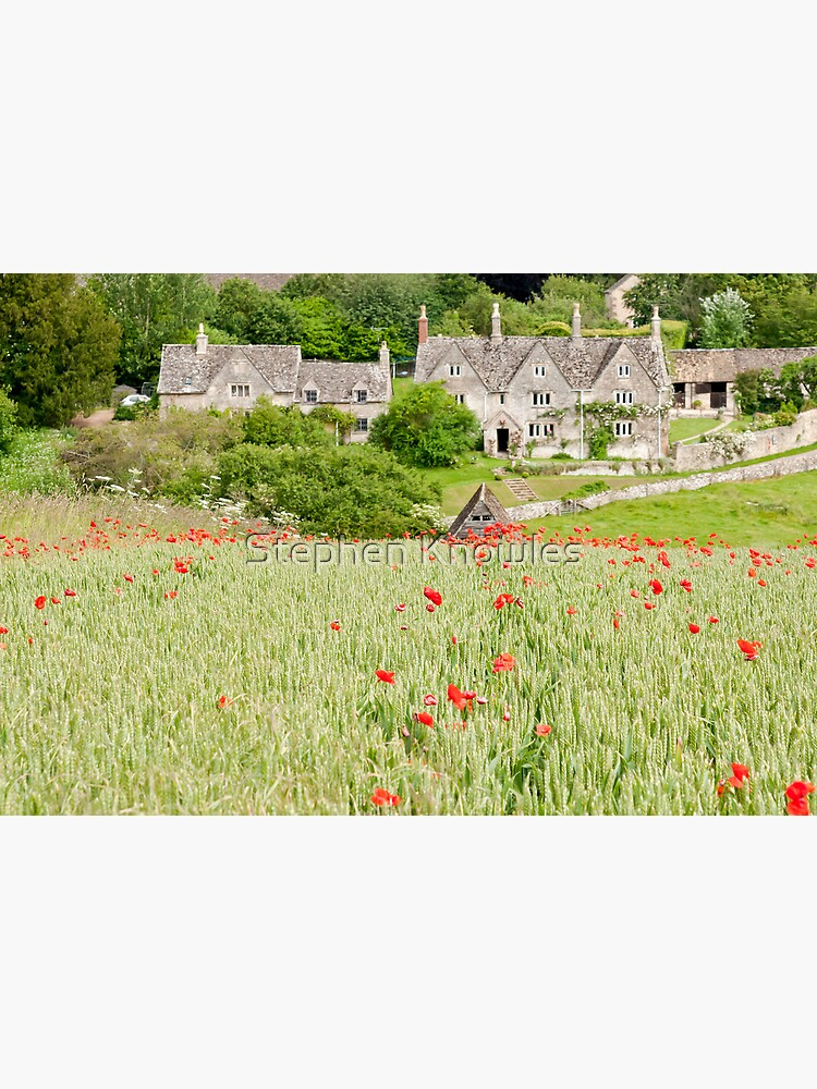 Cotswold Poppy Field by stephenknowles