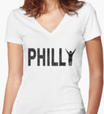 Philly State of Mind Fitted V-Neck T-Shirt