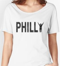 Philly State of Mind Women's Relaxed Fit T-Shirt