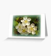 Golden sparkles Greeting Card