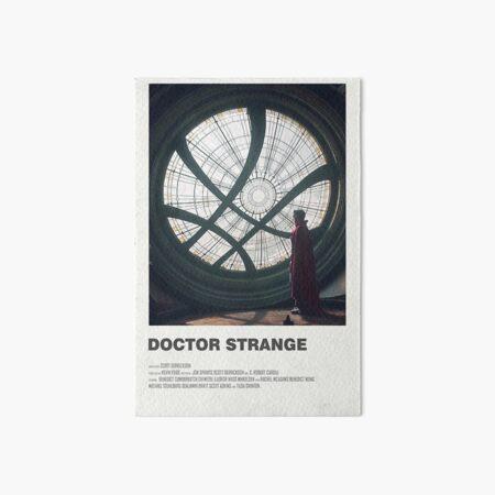 Doctor Strange Alternate Movie Poster Art Board Print
