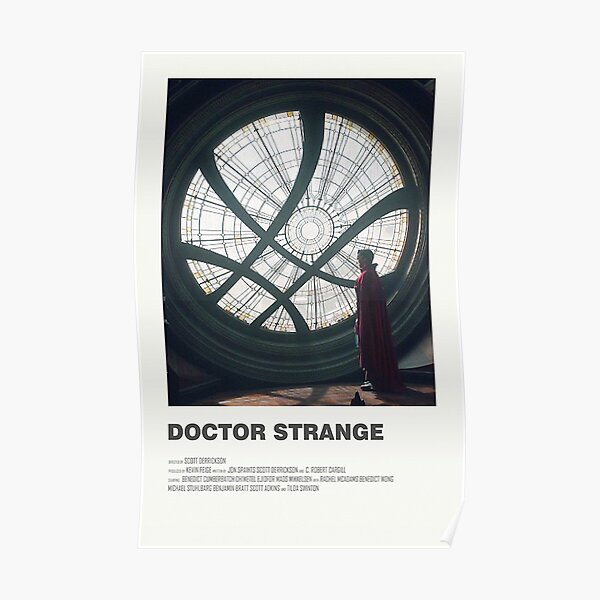 Doctor Strange Alternate Movie Poster Poster