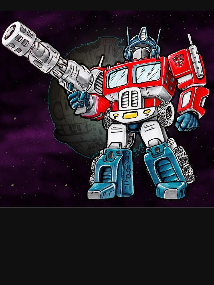 Transformers Optimus Prime Chibi | Unisex T-Shirt