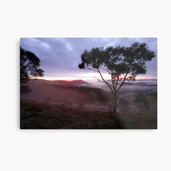 Sunrise Valley of a Thousand Hills - Victoria Metal Print