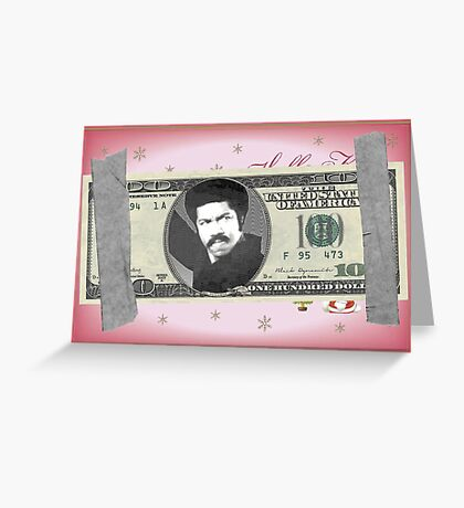Black Dynamite Bill Greeting Card