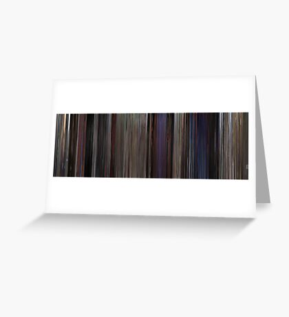 Moviebarcode: The Blues Brothers (1980) Greeting Card