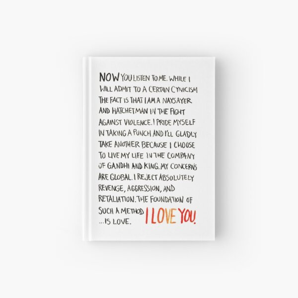 The Foundation of Such a Method Is Love Hardcover Journal