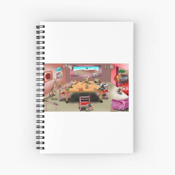 Home Invasion Spiral Notebook