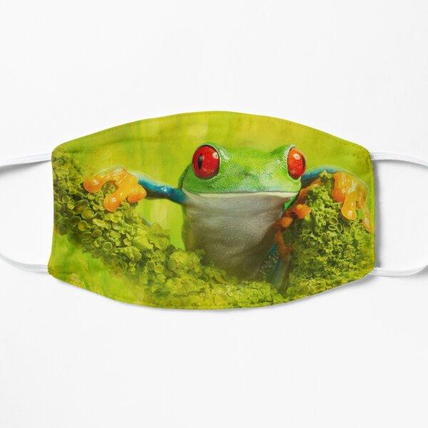 Red eyed tree frog Flat Mask