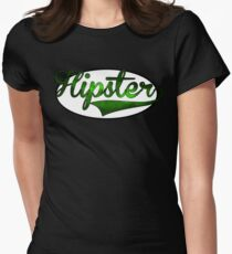 HIPSTER TEE | GREEN Womens Fitted T-Shirt