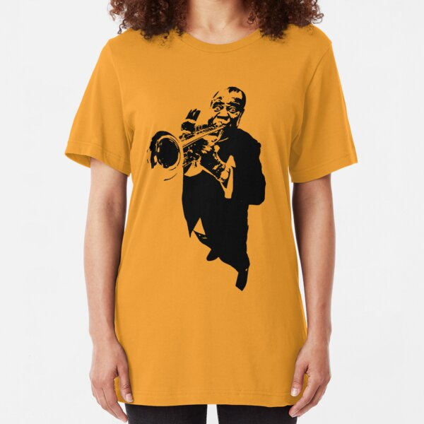 Louis Armstrong t-shirt Slim Fit T-Shirt