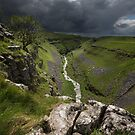 Gordale Beck After The Storm by SteveMG