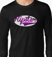 HIPSTER TEE | PURPLE Long Sleeve T-Shirt