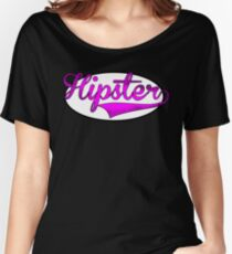 HIPSTER TEE | PINK Women's Relaxed Fit T-Shirt