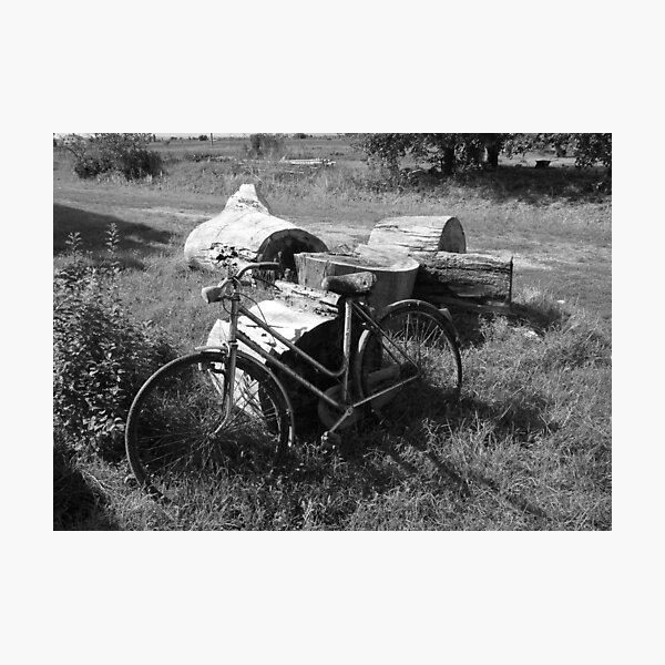 Bicicletta Photographic Print
