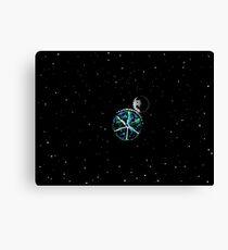 Space Gears Canvas Print