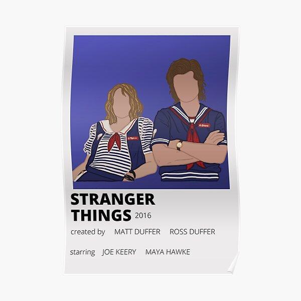 stranger things minimalist poster Poster