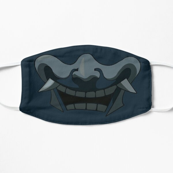 Blue spirit mask Flat Mask