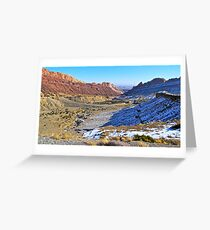 Desert Valley Greeting Card