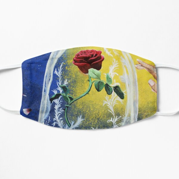 Beauty and the beast  Flat Mask