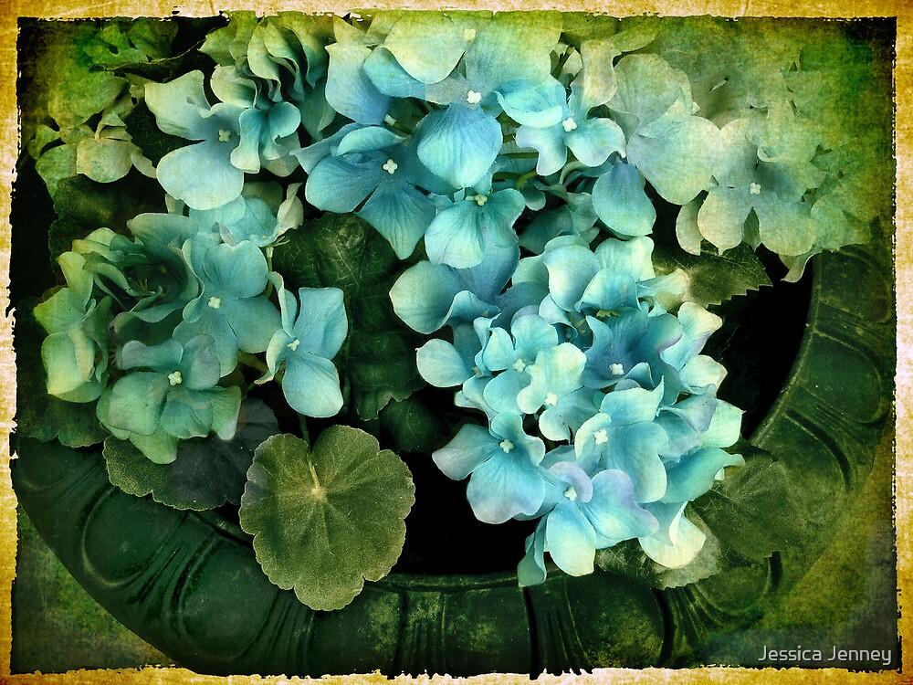 Hydrangea in Blue by Jessica Jenney