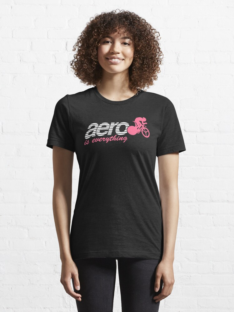 Alternate view of Aero is everything - Time trial artwork Essential T-Shirt