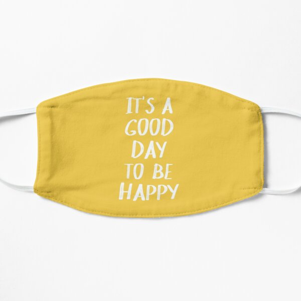 It's a Good Day to Be Happy in Yellow Mask