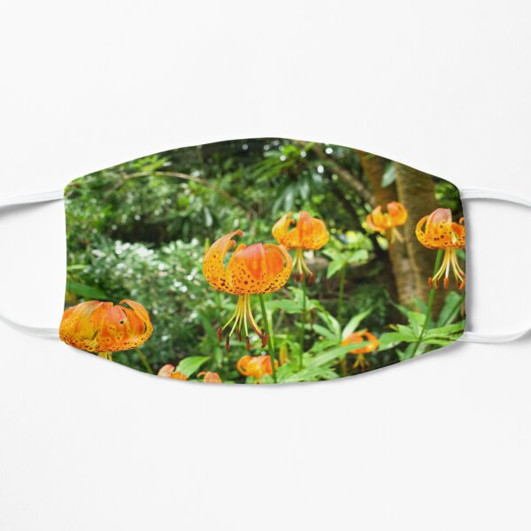 Carolina lily upside down flower Mask