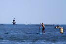 """Paddleboarding by Christine """"Xine"""" Segalas"""