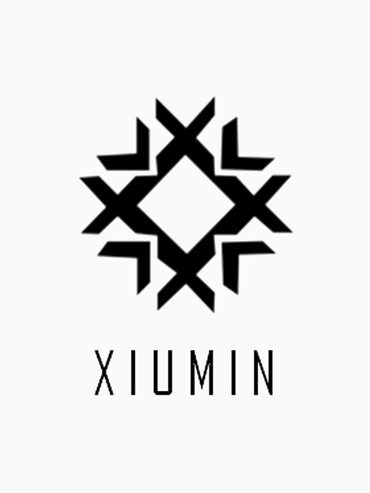 """EXO Xiumin Name"" T-shirt by supalurve | Redbubble"