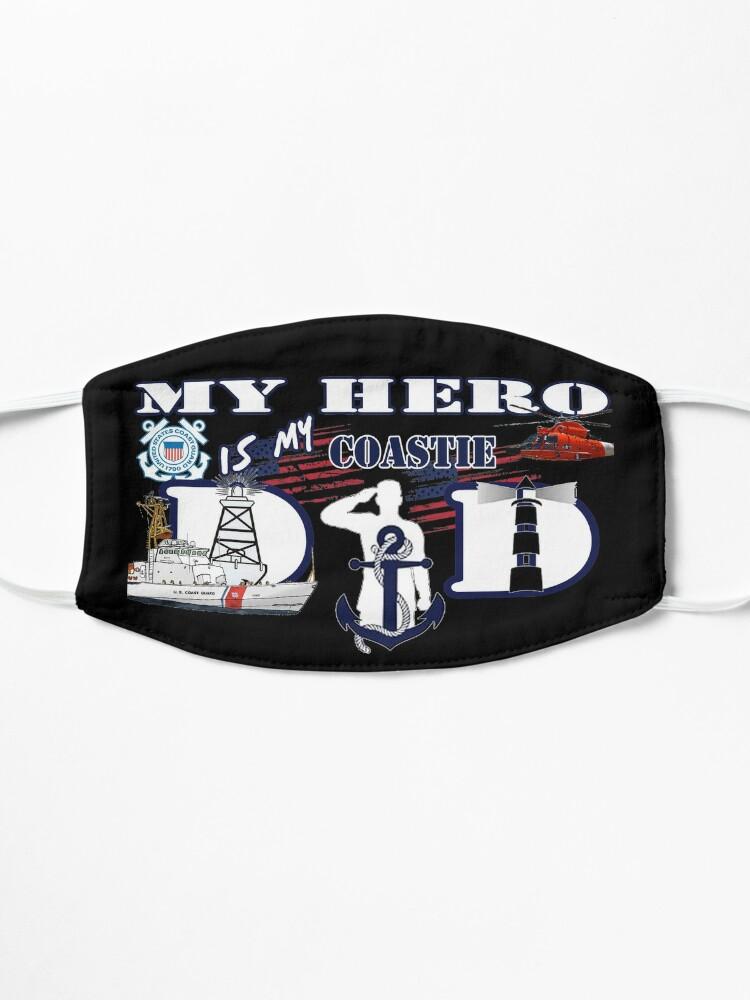 Alternate view of My hero is my Coastie Dad Mask