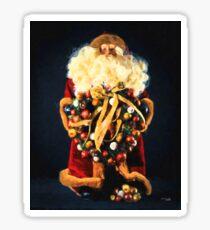 Here comes Santa Sticker
