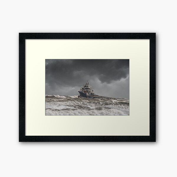 The Perfect Storm Framed Art Print