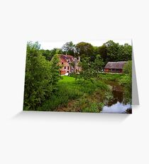 White Mill Greeting Card