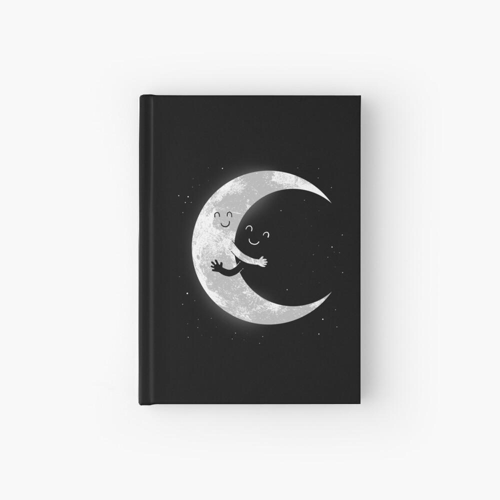Moon Hug Hardcover Journal