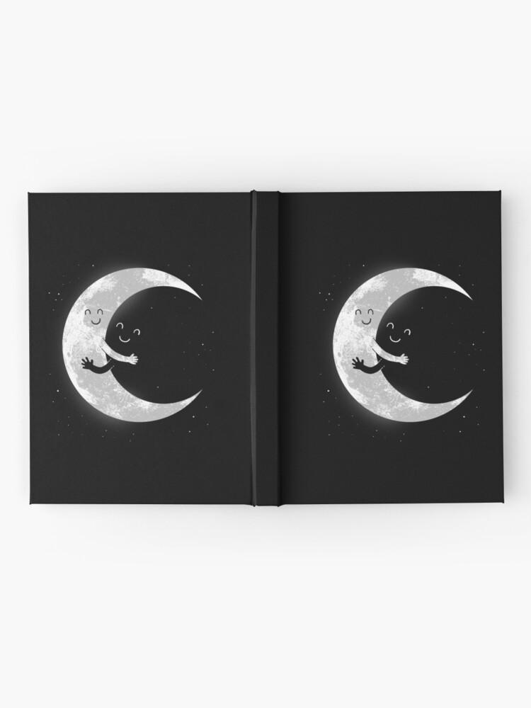 Alternate view of Moon Hug Hardcover Journal