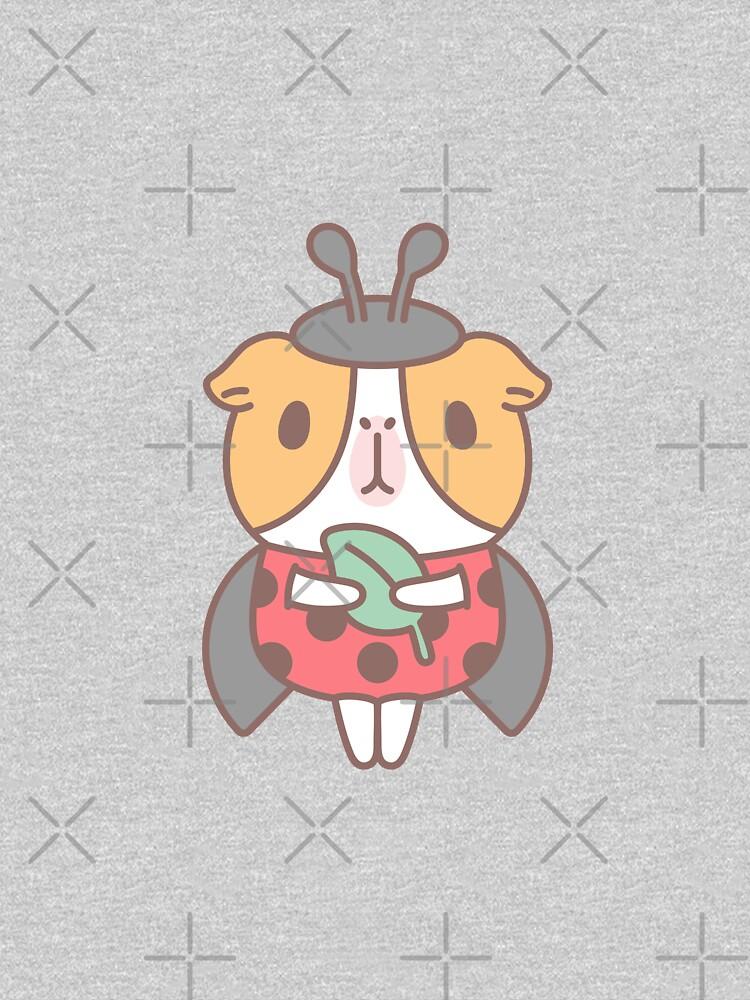 Guinea pig in Ladybug Costume  by Miri-Noristudio