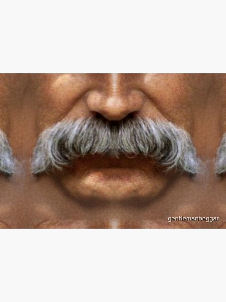 Moustache Art: The Sam by gentlemanbeggar