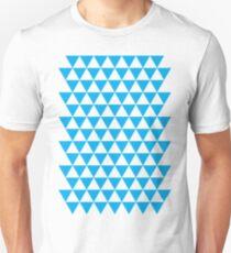triangle waterfall (cyan) Unisex T-Shirt