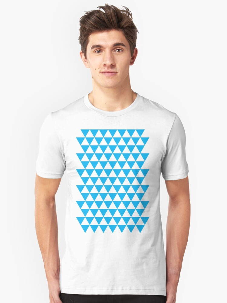 triangle waterfall (cyan) by timmehtees