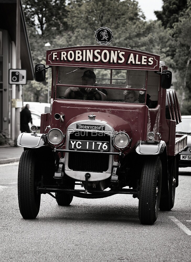 Delivering The Ale by Paul Barnett