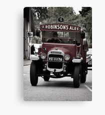 Delivering The Ale Canvas Print