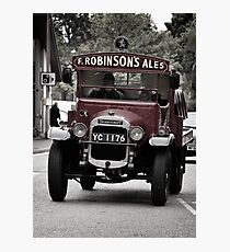 Delivering The Ale Photographic Print
