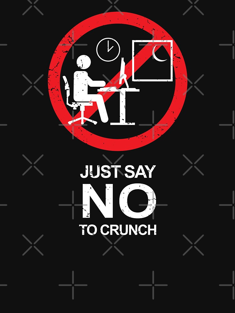 No Crunch Sign - 02 by CCCDesign