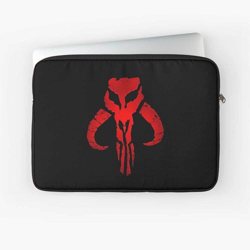 Bounty Hunter Skull Laptop Sleeve